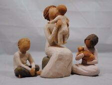 Willow Tree Imaginative Child / Grandmother / Kindness Figurine Mother's Day 3PK