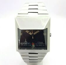 Vintage Omax Spaceman Automatic Date Swiss Made Mens Wrist Watch