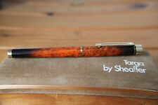 Sheaffer Targa Fountain Pen Rare Laque Amber Ronce - uninked