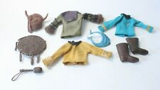Mego Star Trek and Apes Original Shirts Boots with Heavy Wear