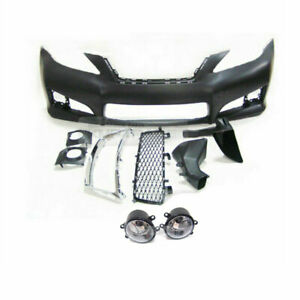 ISF Look Front Bumper w Fog Lamp w/o Grille PDC for LEXUS 2006-2011 IS250