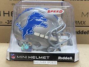 Detroit Lions - Riddell NFL Speed Mini Football Helmet