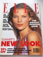 ELLE Magazine April 1995 Kate Moss Vintage