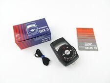 Gossen BIX 3 Belichtungsmesser Light Meter Exposure Meter + Anleitung OVP