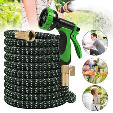 7.5-50m Flexibler Gartenschlauch flexibel Wasserschlauch dehnbarer Flexischlauch