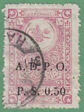 Syria French Occ ADPO Fixed Fee Revenue McDonald #165 used PS0.50 on 10pa cv $10