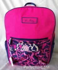 NWT Vera Bradley Katalina Pink Small Colorblock Backpack with free ship Adorable