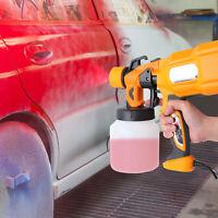 Electric Spray Gun 650W HVLP Paint Sprayer Painting Compressor 110V Home DIY