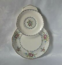ROYAL ALBERT PETIT POINT PLATE BONE CHINA CAKE PLATE SNACK PLATE OR TOAST PLATE