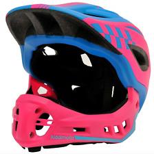 Full Face Helmet 2 in 1 Detachable Chin Guard Mountain Bike BMX Small Fast Post!