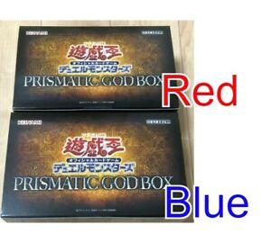RED BLUE Osiris Obelisk OCG Duel Monsters PRISMATIC GOD BOX x2 Yu-gioh