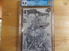 TEEN TITANS #1 MICHAEL TURNER SKETCH COVER CGC 9.8