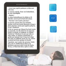 """8"""" E-Ink Touch Screen 167PPI Wifi Ebook Reader 8GB Android4.2 Backlight Portable"""
