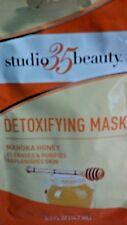 Studio 35 Detoxifying Manuka Honey Peel Off Mask 0.5 oz Protect Skin Face & Neck
