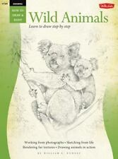 Drawing: Wild Animals: Learn to draw step by step (How to Draw & Paint) by Powel