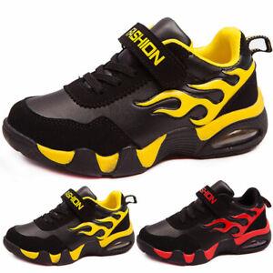 Children's Shoes Boys Girls School Athletic Running Lightweight Tennis Sneakers