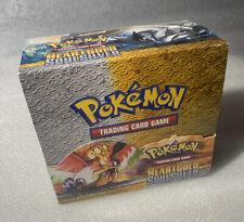 Pokemon HeartGold & SoulSilver - Booster Box / Display - LEER - englisch
