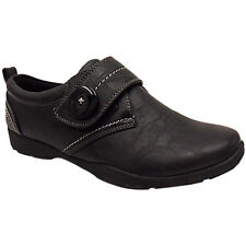 NEW WOMENS LADIES LOW FLAT TOUCH HARD SOLE COMFORT WORK NURSE SHOES SIZE PUMPS
