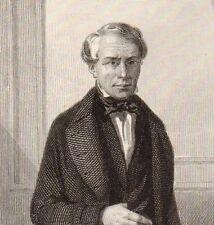 Portrait XIXe Jules Dufaure Saujon Charente-Inférieure Révolution 1848