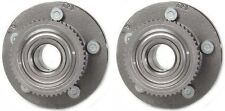 Hub Bearing Assembly for 2002 Lincoln Town Car Fit ALL TYPES Wheel-Front Pair