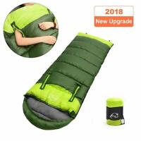Envelope Sleeping Bag 4Season with Free Hand for Outdoors,Indoors,Camping,Hiking