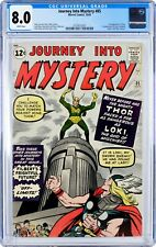 Journey into Mystery 85 (Oct 1962) CGC 8.0 First Appearance of Loki! Key Issue!