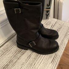 Mens Harley Davidson Black Leather Engineer Boots size 8.5 98412