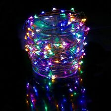 Waterproof LED String Lights Indoor/Outdoor Lighting Fairy Strand Dorm Room