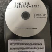 "PETER GABRIEL ""THE VEIL"" NEW 3 TRACK UK CD PROMO"
