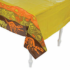 DINOSAUR  PARTY ~ Dino Dig Tablecover / Tablecloth 137cm x 274cm - Free Postage