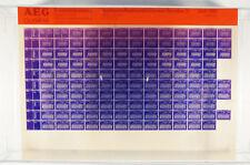 AEG Olympia Ersatzteilkatalog Tastaturen Microfiche Jahr 1988 vintage K166