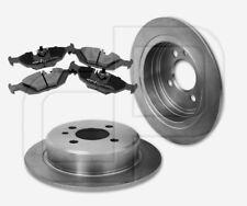 2 Bremsscheiben + 4 Bremsbeläge BMW hinten | Hinterachse 258 mm unbelüftet