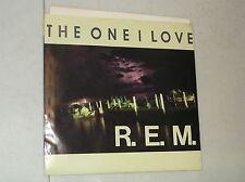 "REM 1987 45 RPM RECORD THE ONE I LOVE MAPS & LEGENDS 7"" INTERNATIONAL I.R.S."