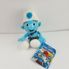 "Kellytoy Gutsy Smurf Plush Stuffed Animal Movie Character 10"" w/ Tag Rare Find"