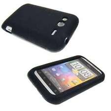 caseroxx TPU-Hülle für HTC Wildfire S in schwarz aus TPU
