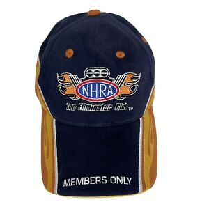 NHRA Top Eliminator Club 2007 Trucker Hat 38th  AC Delco Gatornationals