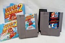 Super Mario Bros. 2 (1988) + Mario Bros w/ Duck Hunt NES VIdeo Games