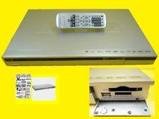DVD-Player mit Kartenlesegerät /5,1 Ausgänge/SD / MMC+USB/Super Slimline/ Silber