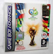 NINTENDO GAME BOY ADVANCE FIFA GERMANY 2006 MONDIALI DI CALCIO NUOVO SIGILLATO