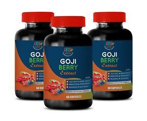 goji berries - GOJI BERRY EXTRACT 300mg - super antioxidant - 3 Bottles