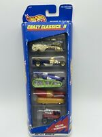 Hot Wheels Crazy Classics ll Gift Pack 5 Pack 1/64 Scale FREE SHIPPING