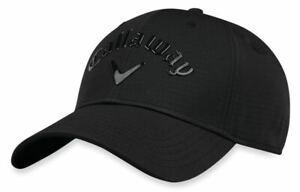 Callaway Liquid Metal 2018 Golf Hat New - BLACK/BLACK