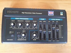 VEC1070 High Resolution Video Processor Vision and Sound Mixer