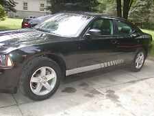 Dodge Charger Faded Rocker stripes Stripe Graphics FIT ALL YEAR & Models
