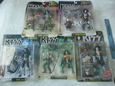 Lot of 5 Kiss Psycho Circus Figures NIB McFarlane Toys