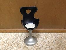 Barbie Doll Bratz Bus House Furniture Black Beauty Hair Salon Stool Egg Chair