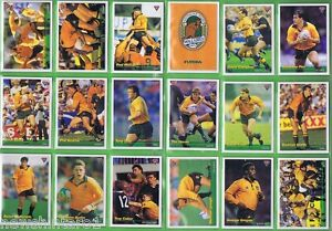1995  SET OF 110 AUSTRALIAN RUGBY UNION FUTERA CARDS