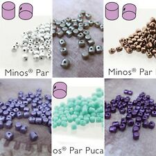5 grams Minos par Puca® Glass Beads by Les Perles Par Puca