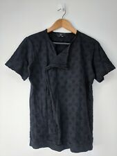 Yohji Yamamoto Y's Ys black minor see through black ladies tshirt size 2