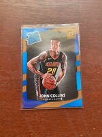 2017-18 Donruss Rated Rookie #182 John Collins Rookie RC Atlanta Hawks INVEST